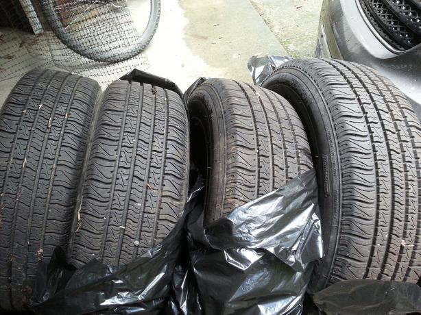 All season tires 185/65R15 (M+S) rating