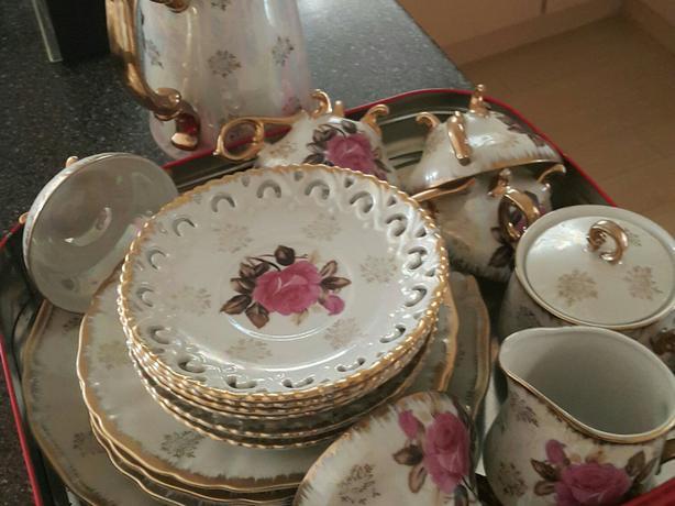 Vintage 6 person high tea set