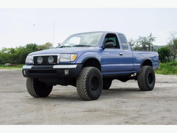 1999 Blue Tacoma TRUCK 4x4 Off Road