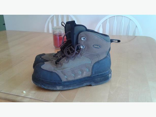 size 11 cabelas wading boots felt some