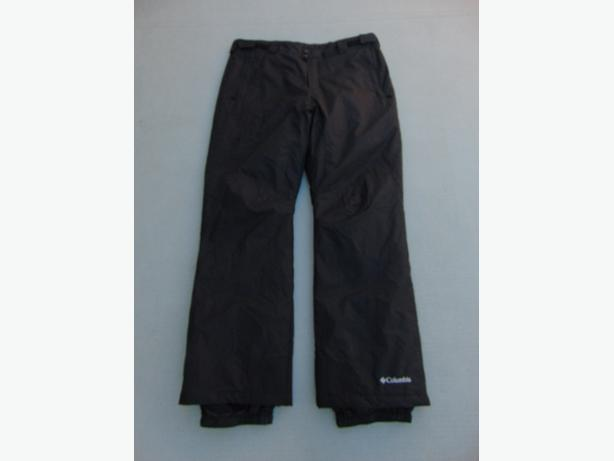 Snow Pants Men's Size X Large Columbia Omni-Shield Black Snowboarding As New
