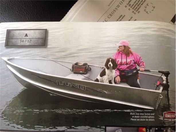 2015 Lund Boat Co LN-ZA12 -