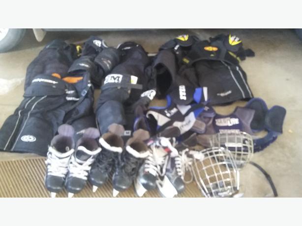 Second hand hockey gear