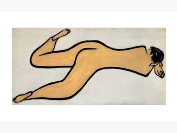 "Sanyu ""Reclining Nude"" 1931 Print"