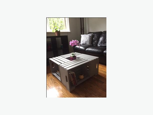 Handcrafted Crate Coffee Table
