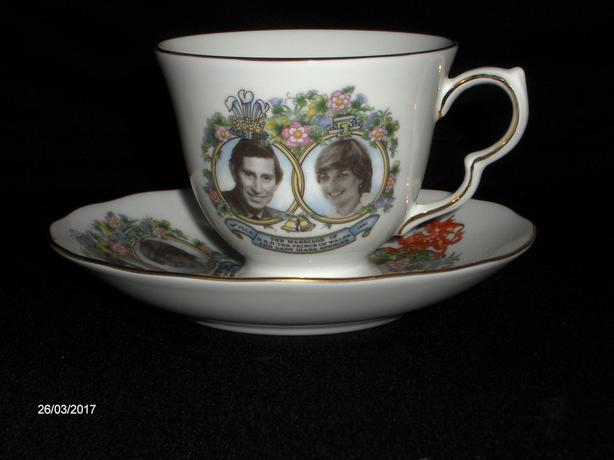 Royal Albert cup and saucer Purchase 1981