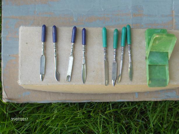 Antique Manicure sets (2 sets for 10.00)