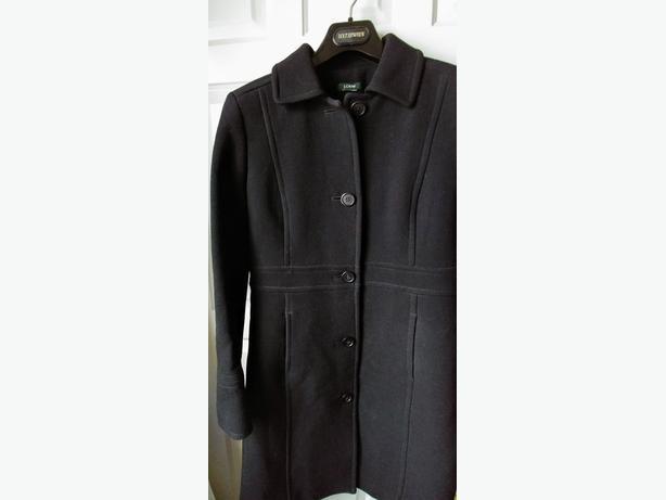 J.Crew wool coat (Petite size 4/ Black) - DEAL!