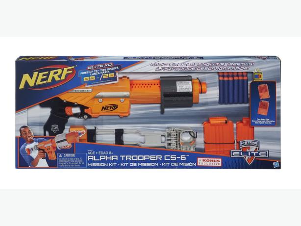 ==NEW==Nerf N-Strike Elite Alpha Trooper CS-6 Mission Kit