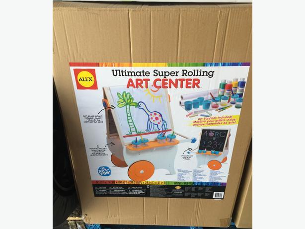 ==Sealed===Alex Super Rolling Art Center- Ultimate Easel $100