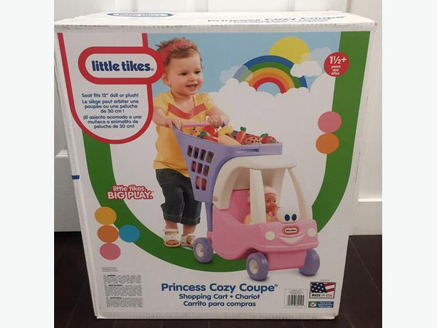 ==Unopened==Little Tikes Cozy Shopping Cart Pink/Purple $25 firm