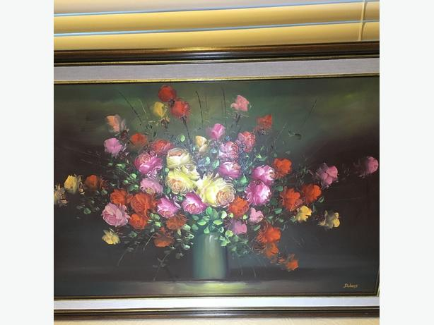 Oil Painting Large, Flower