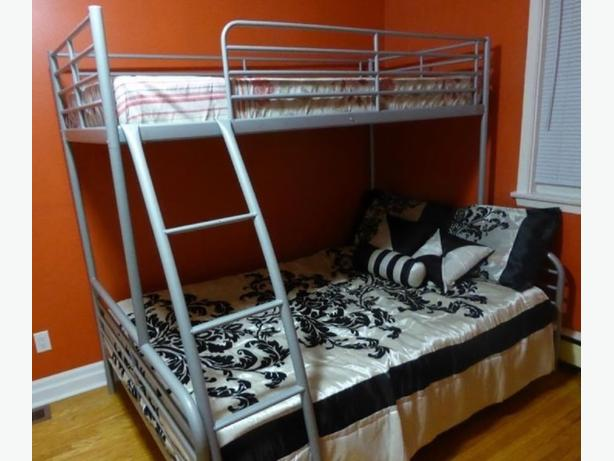 IKEA BUNK BED SINGLE OVER DOUBLE