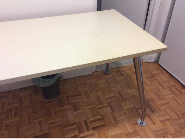 Sleek Rectangular Desk/Work Table by Teknion- OBO/SFPF HOME