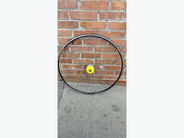 700c Wheel Mavic Ope Pro, Cycle Ops power tap rear hub casette