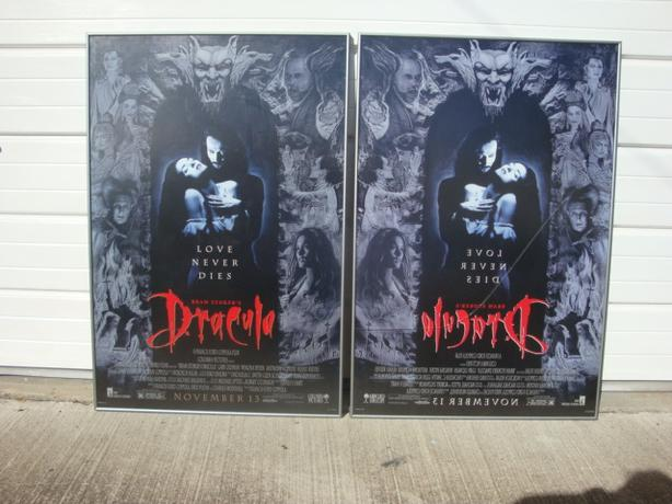 Framed Bram Stoker's Dracula Original Movie Posters