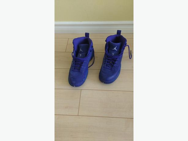 Nike Air Jordan 12 Retro Deep Royal Blue Suede 6.5 M