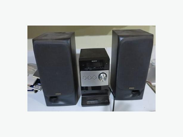 SONY STEREO WITH HITACHI SPEAKERS