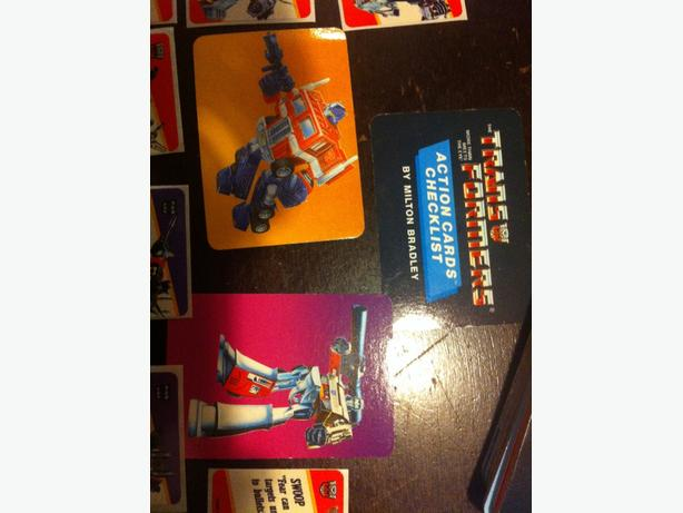 1985 transformers cards g1