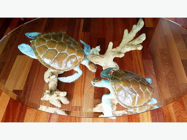 Turtle Reef Coffee Table - by Robert Wyland