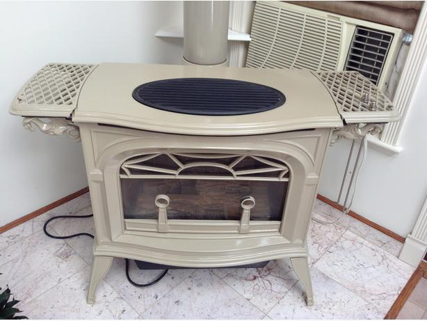 Radiance natural gas heater/stove