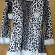 Girls Snow Leopard Halloween Costume 12/14