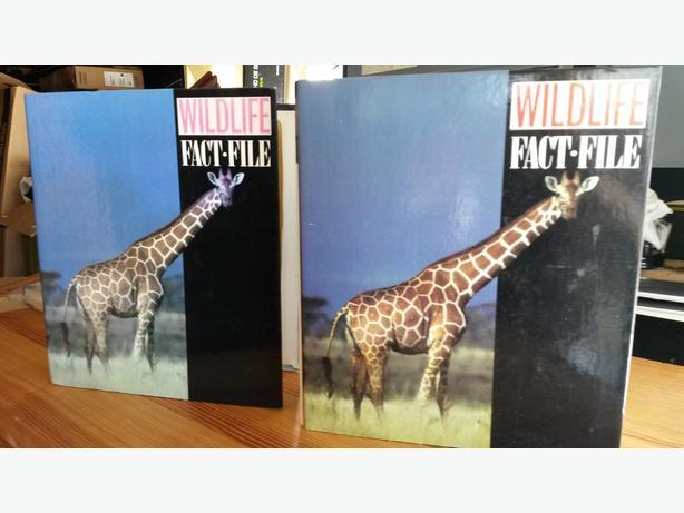 WILDLIFE  FACTFILE BOOKS