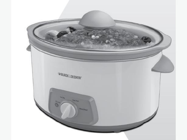 B&D 7 Quart Slow Cooker (6.5 litres)