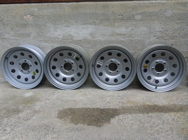 "4 15"" 5 bolt trailer wheels!!"