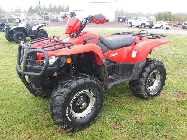2015 Suzuki 500 KingQuad PS - Excellent Condition - Financing Available