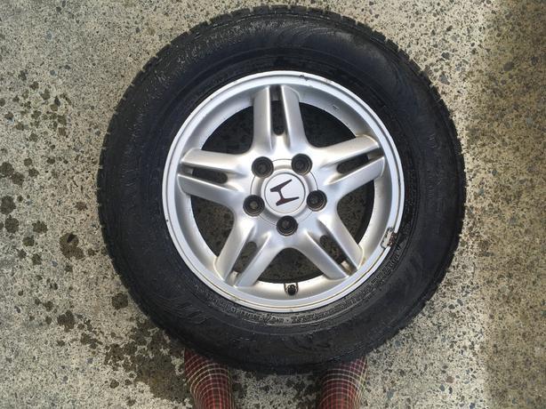 15in aluminum rims from Honda CRV,