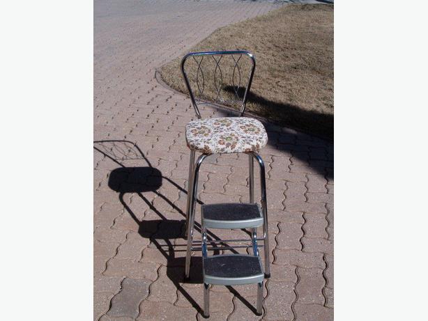 chair is chrome