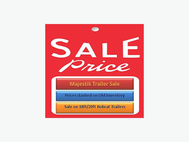 Majestik Trailers Sale