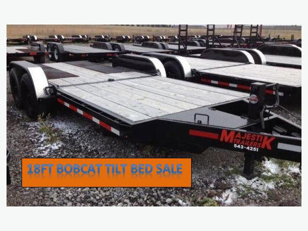 SALE - Majestik L270 18ft Bobcat Tilt Trailer