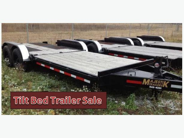 SALE - Majestik 20ft L270 Bobcat Tilt Trailer