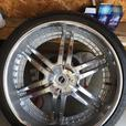 26 INCH Strada Denaro wheels with Lionhart rubber