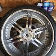 26 INCH Strada Denaro wheels with Lionhart rubber