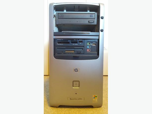 HP Pavilion a520n tower with Windows XP Home Edition