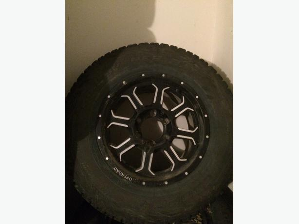 17/265/70 tires and aftermarket rims