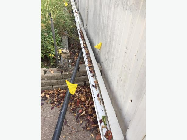 FREE: 20ft eavestrough