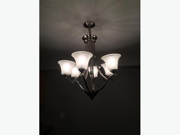 6-light chandelier