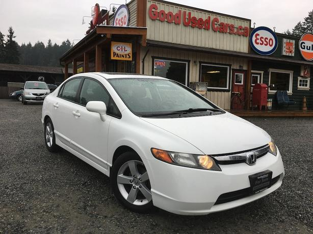 2008 Honda Civic EX - 5 Speed with Alloys & Sunroof