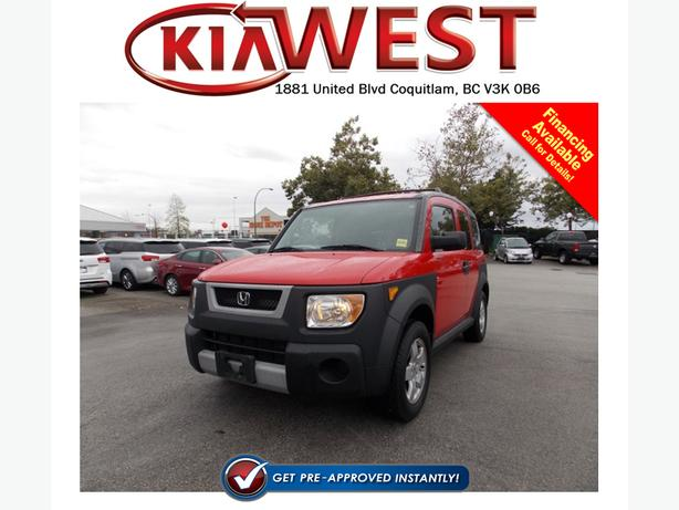 2005 Honda Element Y-Package 4x4