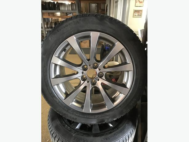 19'' BMW Factory Rims with Continental 225/50/R19 Winter Tires.
