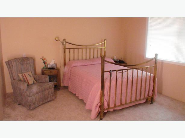 Brass Bed and  Two End Tables