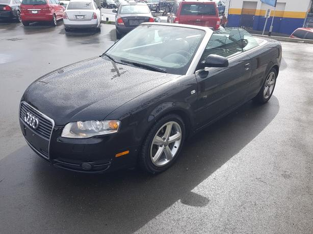 2007 Audi A4 Two Door convertible