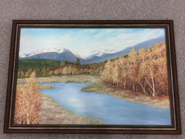 Creek Landscape Painting