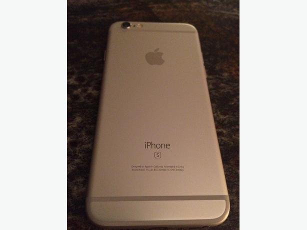 iPhone 6s 128GB Silver *Virgin Mobile/Bell*