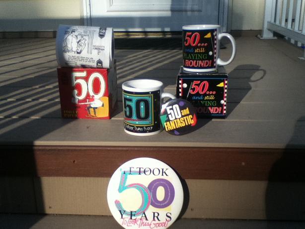 Celebrate a 50th birthday