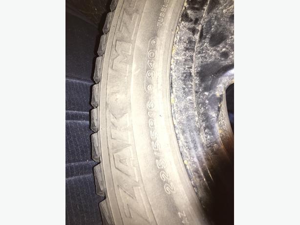 "16"" Blizzak tires"